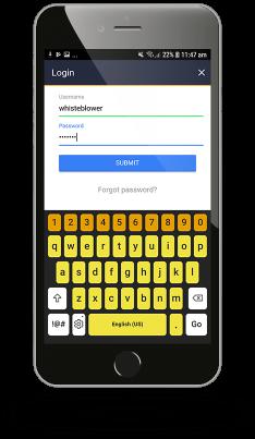 Preview Mobile App - 13 Login