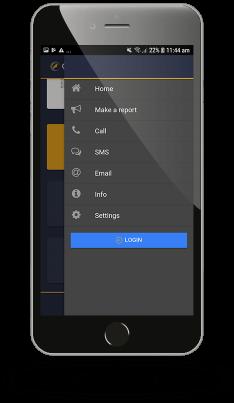 Preview Mobile App - 4 Menu