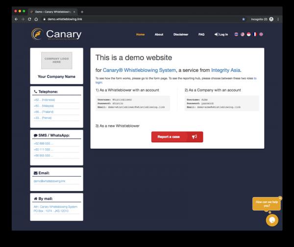 Demo Screenshot 1